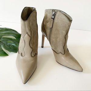 Sam Edelman NEW leather pointed toe heel bootie